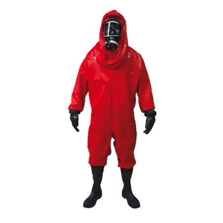 Acid/gas tight chemical suit solas