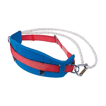 cintura Safety belt with lifeline and hook