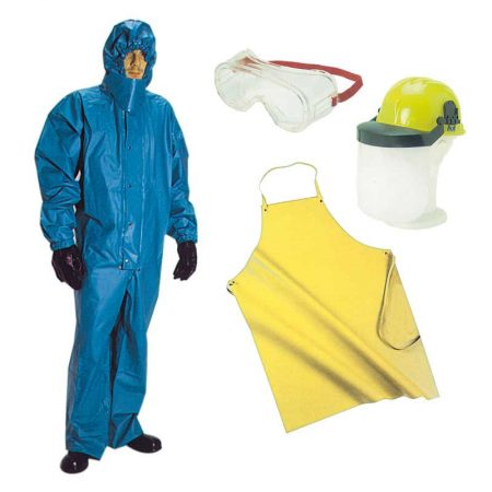Chemical tight suit kit